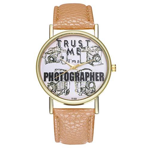 Constellation Ladies Quartz Small Watch - Lindsie-Box - Quartz Watches Women Constellations Dial Couple Watch Leather Wrist Watche Analog Clock Gifts Montre Femme