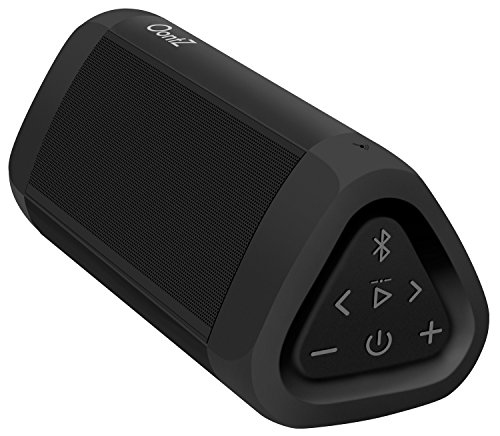 OontZ Angle 3 Ultra Portable Bluetooth Speaker 14-Watts Deliver Bigger Bass and Hi-Quality Sound, 100ft Wireless Range, Play Two Together for Music in Dual Stereo, IPX-6 Splashproof Black
