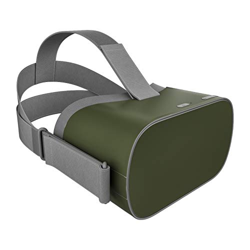 Solid State Olive Drab DecalGirl Skin for Oculus Go Mobile VR Headset - Ultra Thin Protective Vinyl Decal wrap Cover