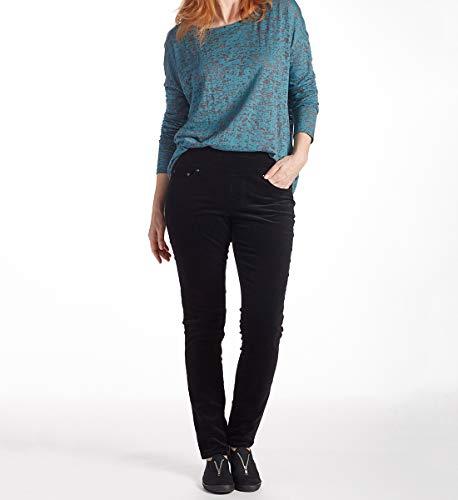 (Jag Jeans Women's Nora Skinny Pull on Corduroy Pant, Black,)