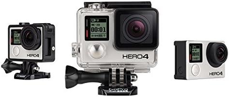 GoPro HERO4 Black Edition Adventure Videocamera 12 MP, 4K/30 fps, 1080p/120 fps, Wi-Fi, Bluetooth [Italia]