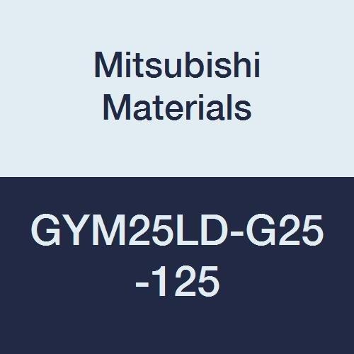 M25 Size 0.984 Grooving Depth Left Hand Mitsubishi Materials GYM25LD-G25-125 Face Grooving Holder Modular Blade 0.157//0.167 Seat 4.921 Grooving Diameter
