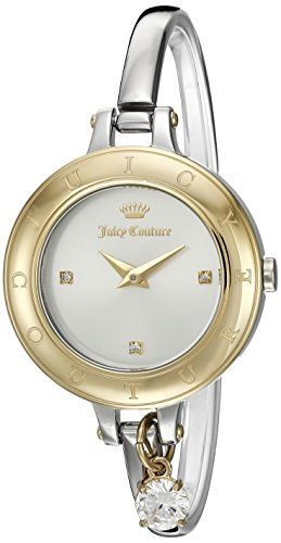 [Juicy Couture Women's 'Melrose' Quartz Gold and Stainless Steel Casual Watch, Color:Silver-Toned (Model: 1901431)] (Movado Bangle Watch)