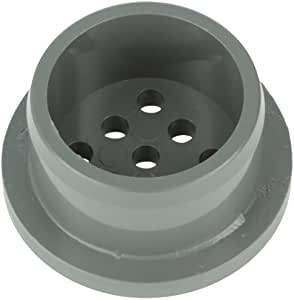 Pentair 46550015 1-1/2-Inch Dark Gray Air Channel Aerator Cap Replacement Pool Specialty Fittings