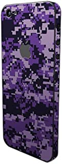 product image for Slickwraps Camo Series Protective Film for iPhone 5 - Purple Camo