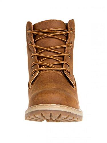 CASPAR SBO065 Women Outdoor Boots Brown ZnVDc