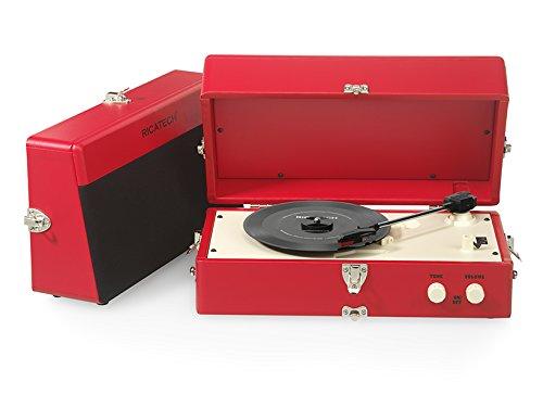 1 opinioni per Ricatech RT80 Giradischi vintage AUX rosso
