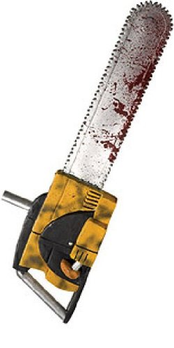 "Texas Chainsaw Massacre Leatherface 27"" Chainsaw"