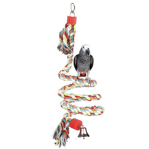 ZKYSO Bird Toys Climbing Rope Large, Medium for Small Parrot Wire,L ()