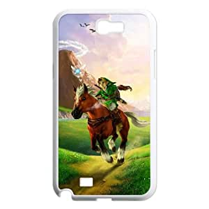 The Legend of Zelda Samsung Galaxy N2 7100 Cell Phone Case White GY0C7KC2