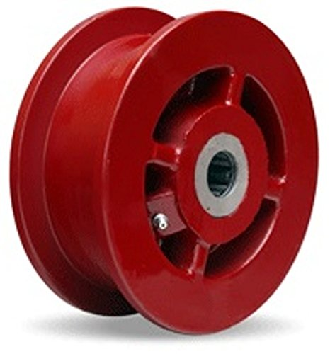 6-X-2-Forged-Steel-Flanged-Wheel-2500-lbs-Capacity-Roller-Bearings