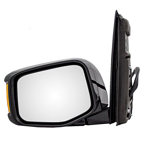 Drivers Power Side View Mirror Heated Memory Signal Replacement for Honda Odyssey Van 76250-TK8-A31ZA (Power Heated Van Mirror)