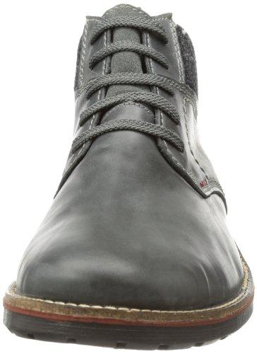 Rieker 35320 - Botas de cuero hombre gris - Grau (asche/anthrazit 42)