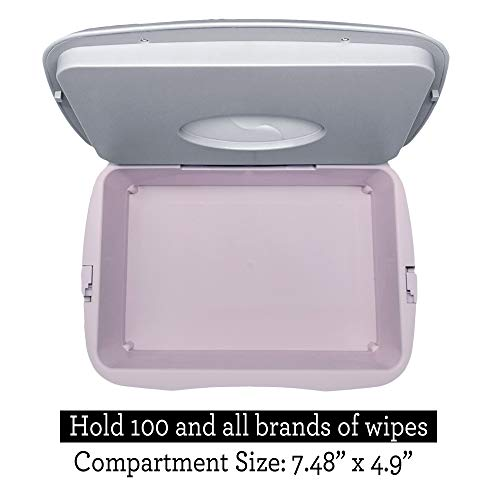 41KI%2B44G0tL - Baby Wet Wipe Warmer, Dispenser, Holder And Case - With Easy Press On/Off Switch, Only Available At Amazon