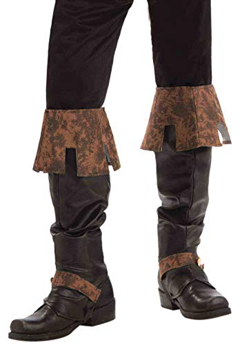 Suede Renaissance Boot Costumes - Forum Novelties Men's Renaissance Boot Tops