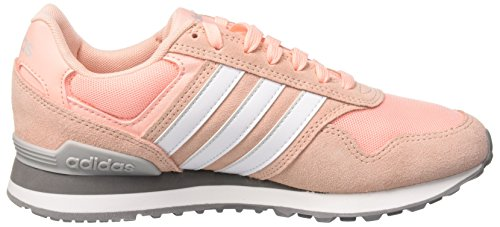 F17 Chaussures Two Haze 10k W haze grey ftwr Adidas Coral De Fitness S17 Rouge Femme White F17 HqwOT4OR