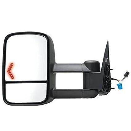 Sierra Power Heated Telescopic w//Signal Lamp Tow Mirror Left Right Side SET PAIR