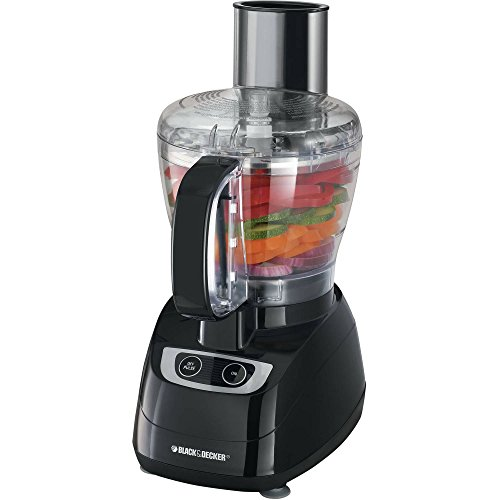 Black & Decker 8-Cup Powerful Stainless Steel Food Chopper and Processor-Black (Hampton Beach Stand Mixer compare prices)