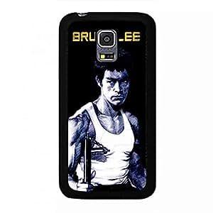 Bruce Lee carcasa de telefono Cover para Samsung Galaxy S5Mini Hard Plastic Case Martial Artist Image Design