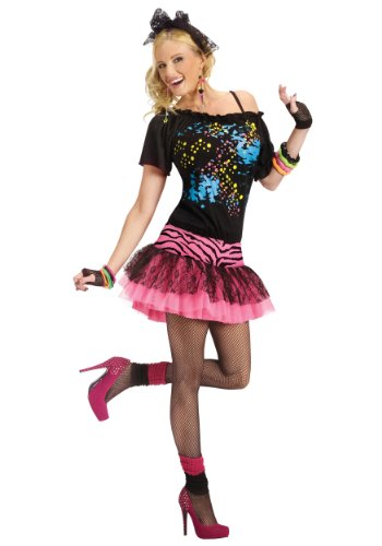Fun World Adult 80s Pop Party Costume