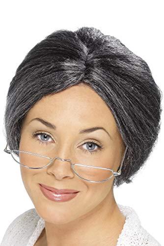 Smiffys Granny Bun Wig ()