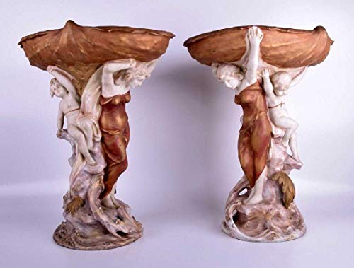 Art Master Collection Pair of Royal Dux Porcelain
