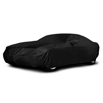 Xtrashield CarsCover Custom Fit C6 2005-2013 Corvette Car Cover Black Covers: Automotive