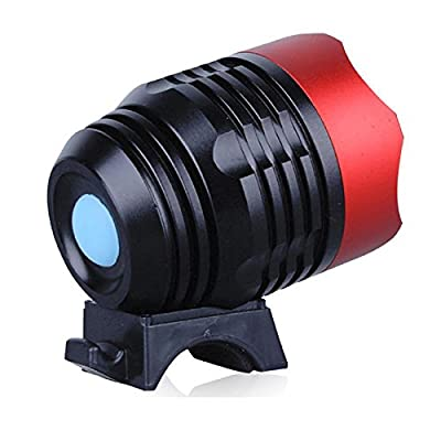 LED Torch Flashlight, 3000 Lumen XML T6 USB Interface LED Bike Bicycle Light Headlamp Headlight 3 Mode Head Torch Flashlight Lamp Tactical Flashlights Outdoor Flashlights for Hiking Camping Household