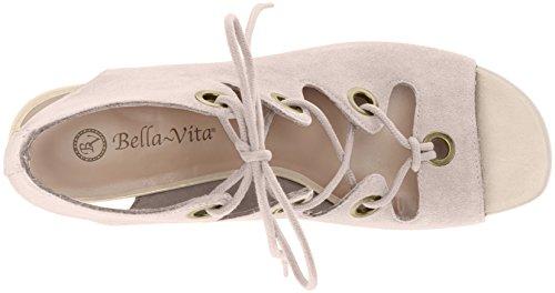 Bella Vita Women's Ingrid Wedge Sandal Cloud Suede Xp8gVFI