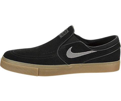 Nike SB Stefan Janoski Slip On Mens Skateboarding Shoes Black/Gum Light Brown/Gunsmoke 10.5 M US
