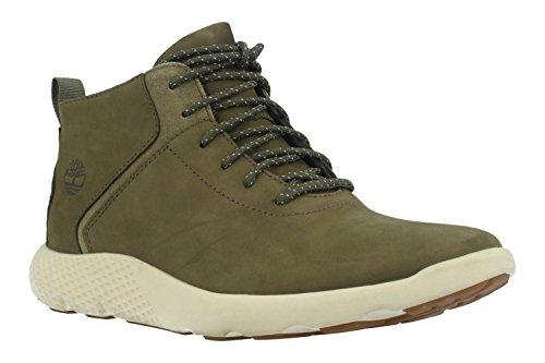 Timberland - Flyroam Leather Trainer Lichen Nubuck - Sneakers Herren Grün