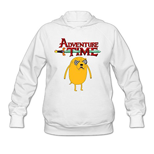 Wesley Adventure Time Wen's Soft Hoodie White XL (Marceline Adventure Time Costume)