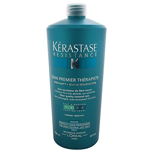 Kerastase Resistance Soin Premier Therapiste Conditioner, 34 Ounce (Kerastase Conditioners)