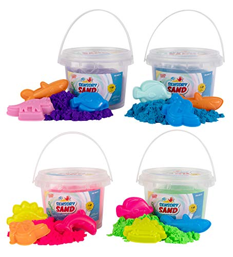 (Sensory Sand Party Pack of Sand with Sea Molds (4 Pack))