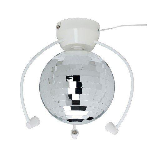 Ikea Dansa Led Boule A Facettes 21 Cm Diametre Amazon Fr