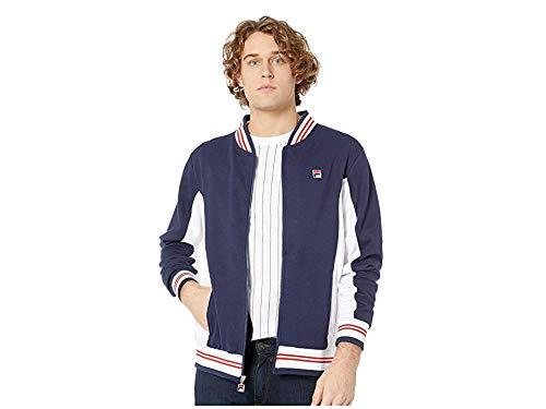 - Fila Men's Settanta Jacket Peacoat/White/Red X-Large