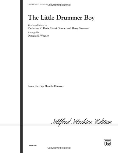 The Little Drummer Boy 3 5 Octaves With Optional Snare Drum