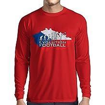 lepni.me Long Sleeve t Shirt Men Evolution Football - Czech Republic