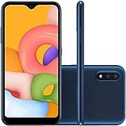 Samsung Galaxy A01 Desbloqueado 32gb Tela 5.7 Octa-core Dual Chip Câmera 13mp Azul