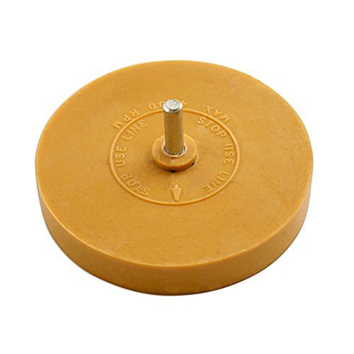 1 Stripe Removal Wheel Adhesive Glue Eraser Caramel Toffee Decal Sticker Remover by AllTrade Direct by AllTrade Direct by All Trade (Toffee Stripe)