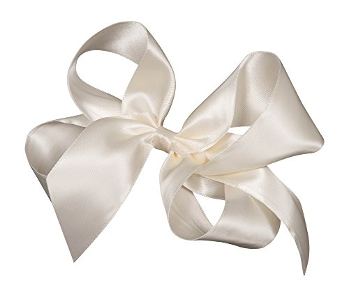Satin Ribbon Hair Bow Large 6