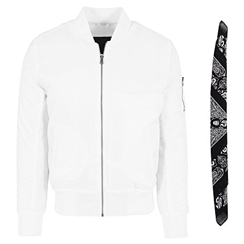 S Jacket Flight colori 8 Bandana Mind Taglie Bomber Xxl Aggressive Joker Jacket White e Ma1 qz87wvtvxX