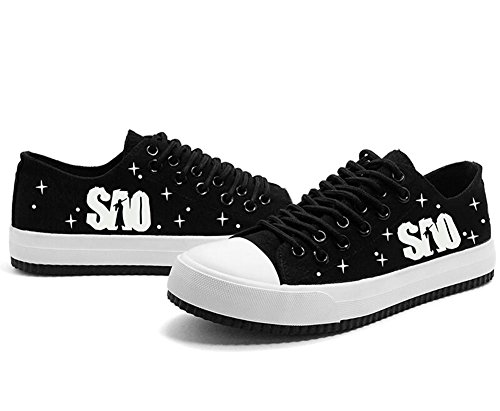 Sword Art Online SAO Cosplay Shoes Canvas Shoes Sneakers Luminous Shoes