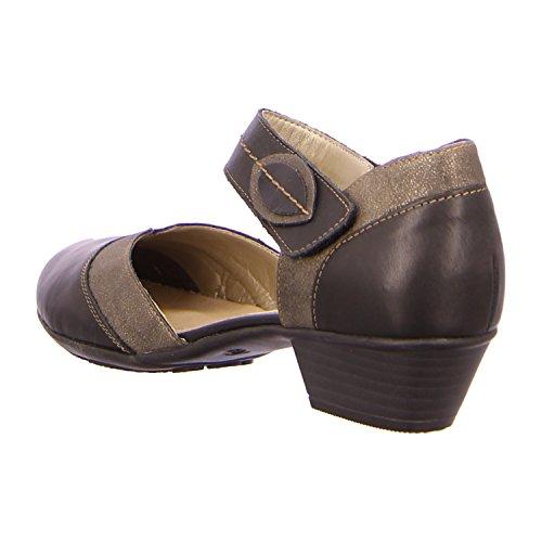 Remonte Mujeres Zapatos de tacón negro, (SCHWARZ/ST) R7305-01