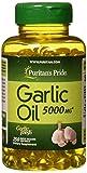 Best Garlic Supplements - Puritan's Pride Garlic Oil 5000 mg-250 Rapid Release Review