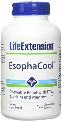 Life 120 Tabs (Life Extension Esophacool 120 Chewable Tablets, 0.57 Pound)