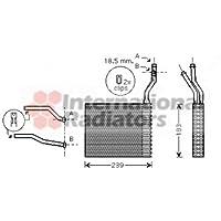 Van Wezel 18006364 Radiador de calefacción