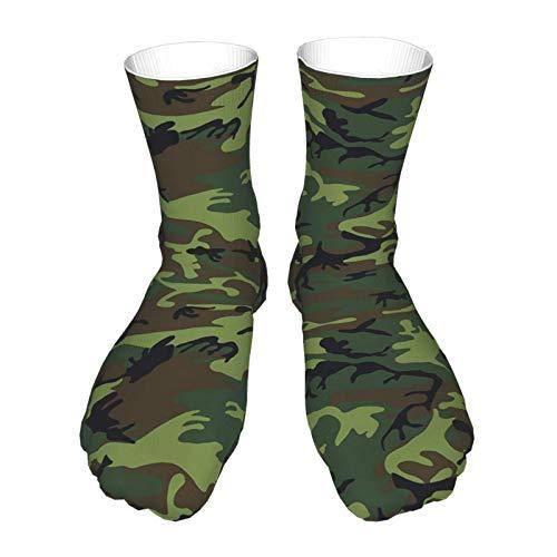 Dary Green Tactique Camouflage Militaire Armée Thème Chaussettes Imprimer Femmes Hommes Confortable Running Athlétique… 2