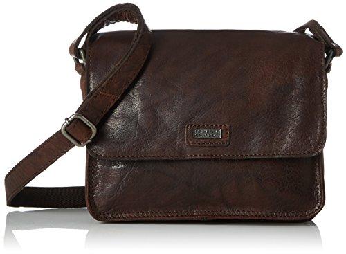Spikes & Sparrow Crossover Bag - Bolsos bandolera Mujer Marrón (Dark Brown)