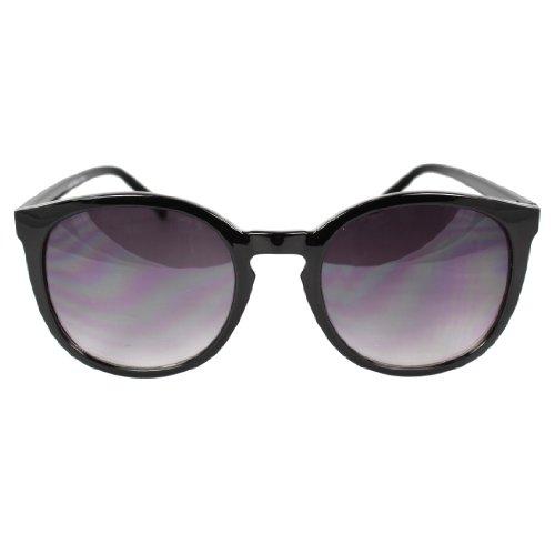 MLC EYEWEAR ® Retro Oval Gangnam Style Fashion Sunglasses Black Frame Purple Black (Gangnam Style Sunglasses)